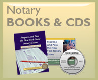 Notary Public books and CDs